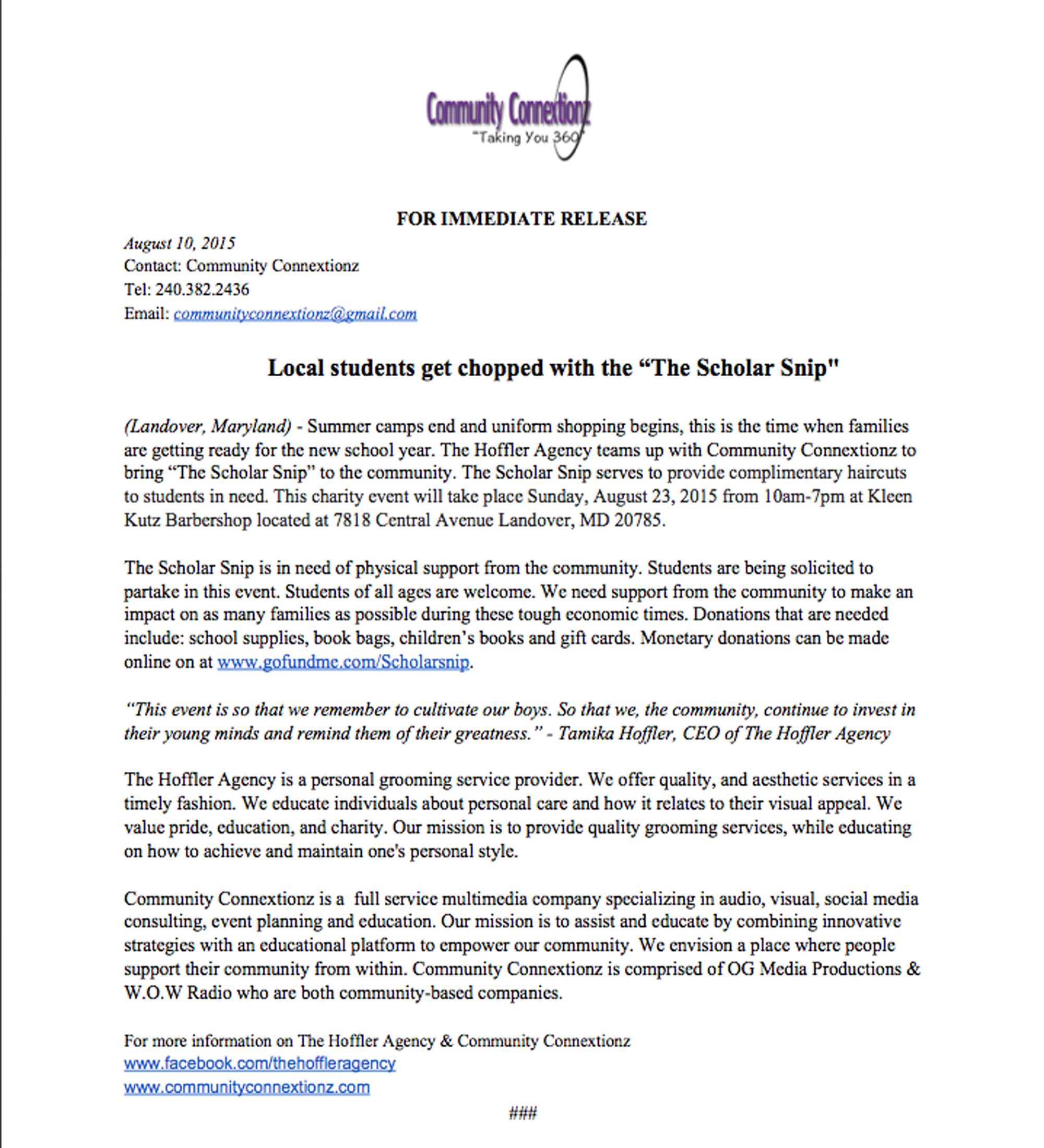 PRESS RELEASE - The Scholar Snip 08.2015.png