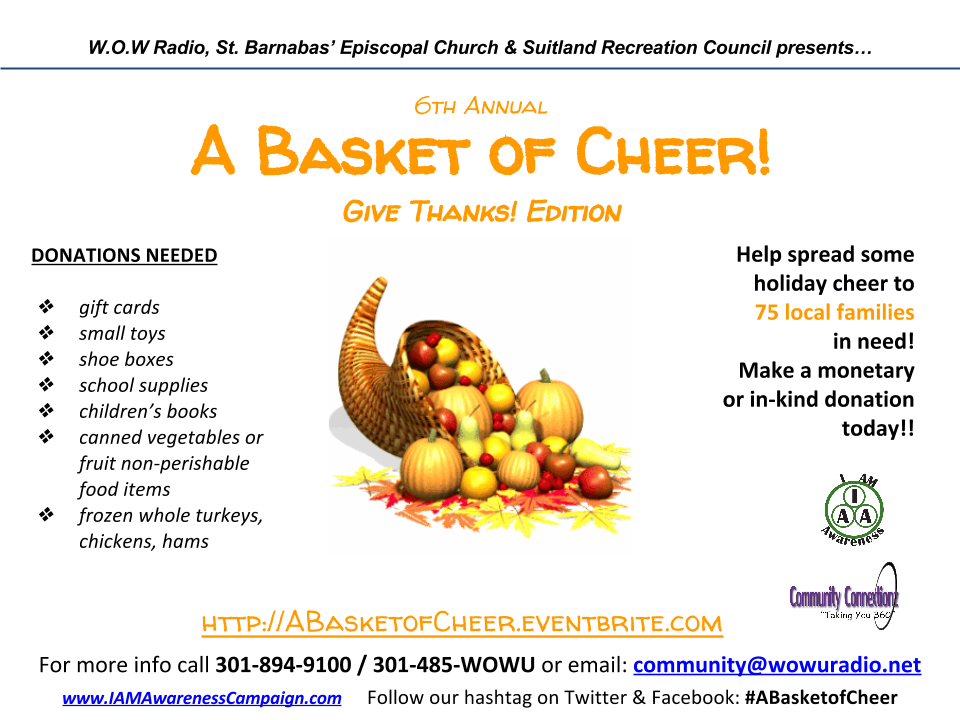 A Basket of Cheer 2016_Donation