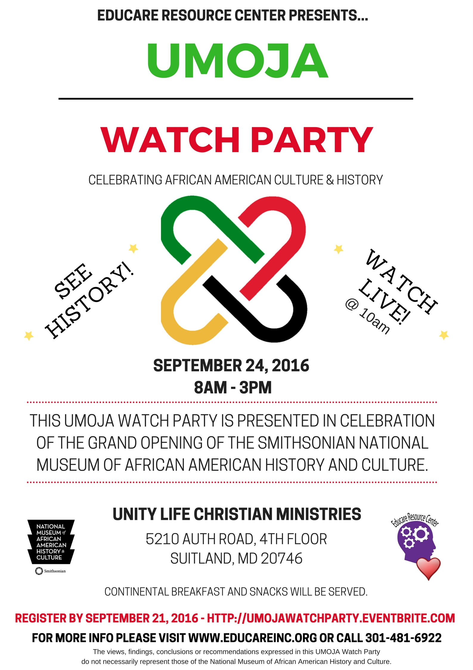 UMOJA Watch Party