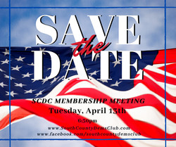 SCDC April 2021 Virtual Membership Meeting