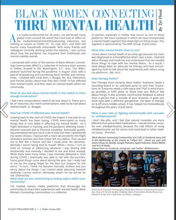 BWCC Mental health article in RallyUp