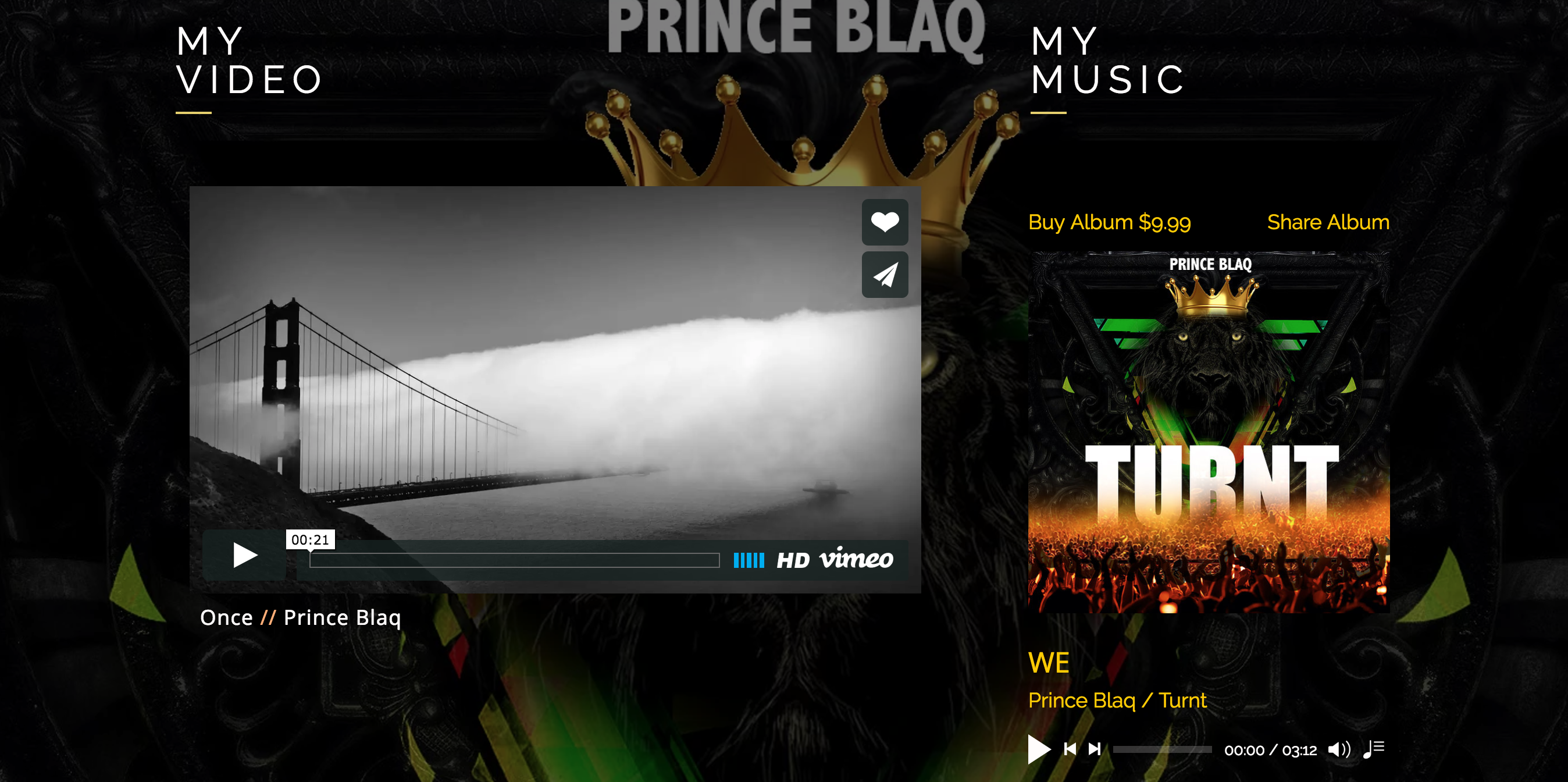 Prince Blaq music