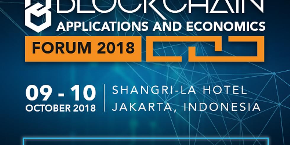 INDONESIA - BLOCKCHAIN APPLICATIONS AND ECONOMICS FORUM
