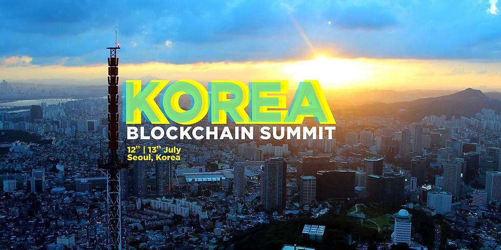 KOREA - BLOCKCHAIN SUMMIT