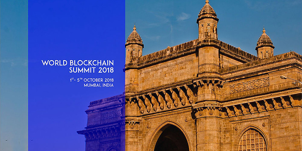 MUMBAI - WORLD BLOCKCHAIN SUMMIT