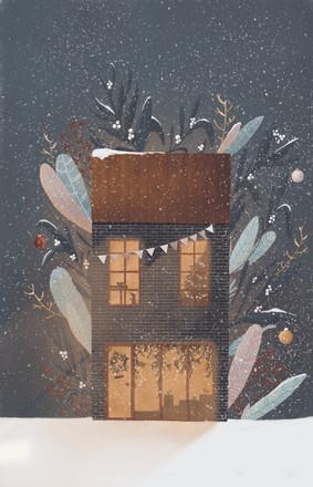 świąteczna witryna   christmas store window