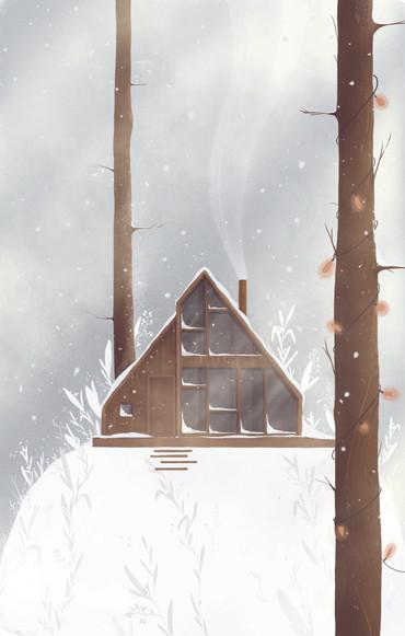 zimowy las | winter forest