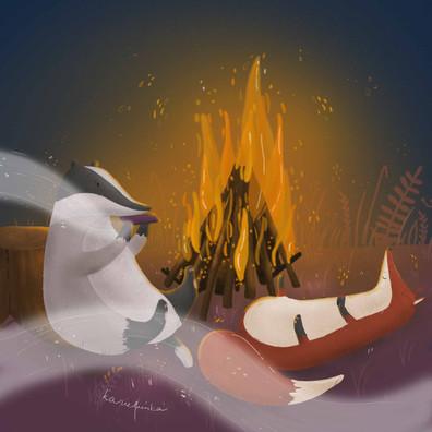 ognisko | bonfire