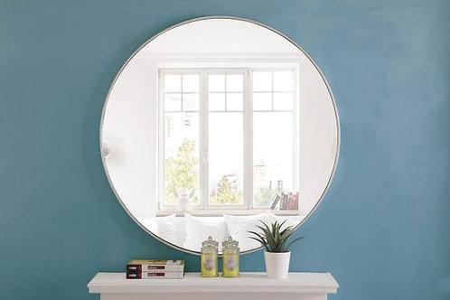 "Elegant Eternity 42"" Round Wall Mirror"