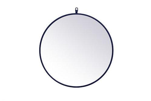 "Elegant Rowan 24"" Round Wall Mirror"