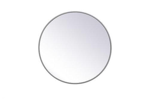 "Elegant Eternity 24"" Round Wall Mirror"
