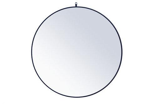 "Elegant Rowan 42"" Round Wall Mirror"