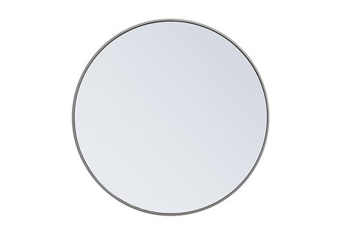 "Elegant Eternity 32"" Round Wall Mirror"