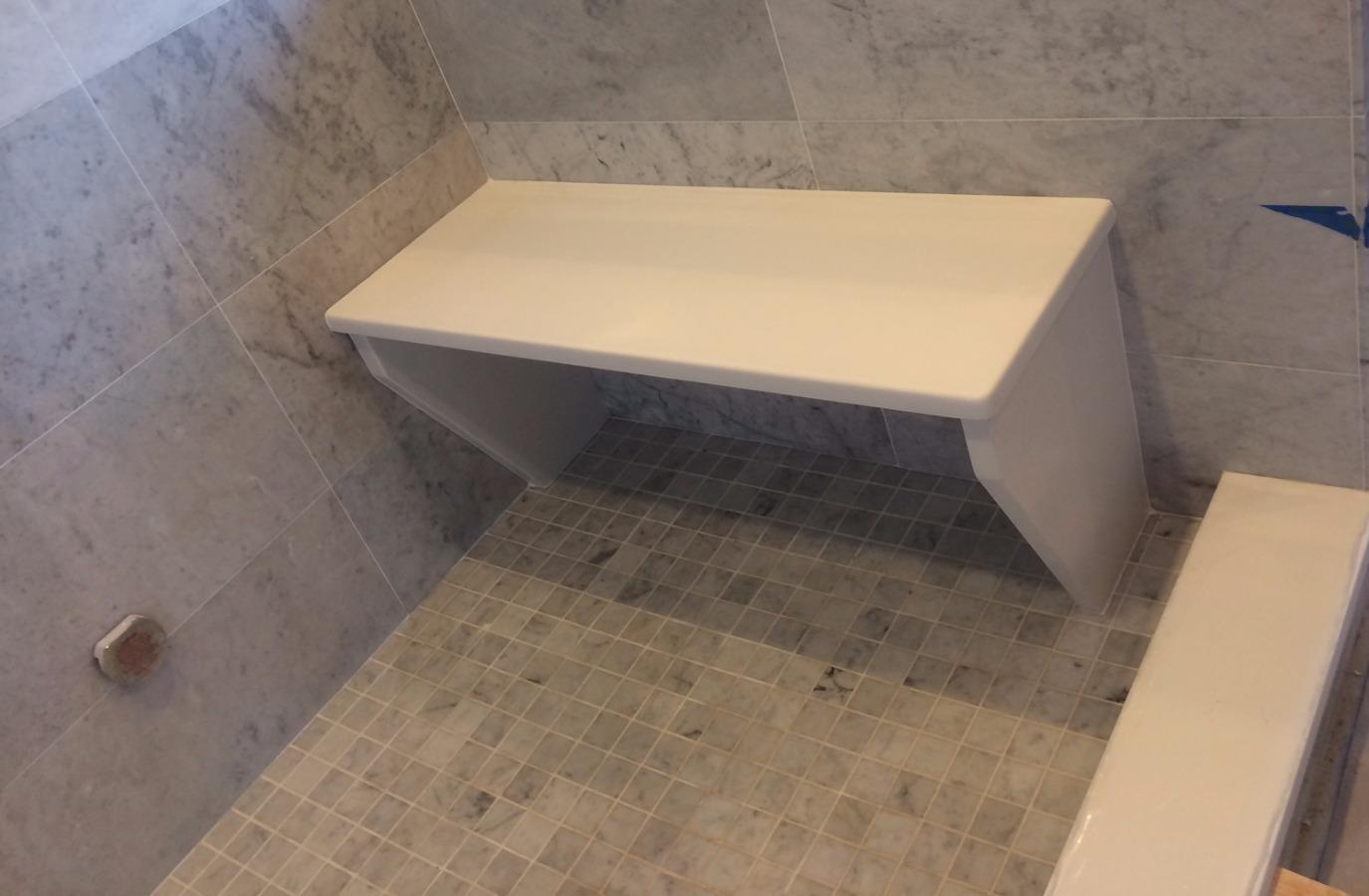 Shower bench 2