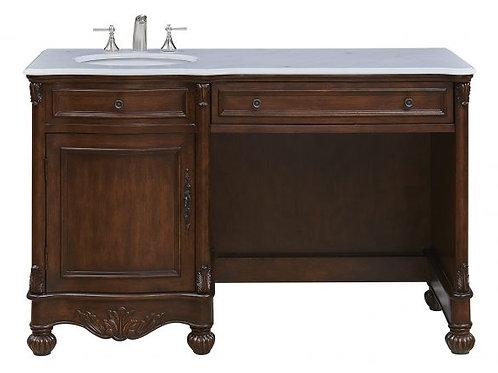 """Elegant Lexington 52"""" Vanity with Drawers"""