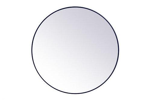 "Elegant Eternity 45"" Round Wall Mirror"
