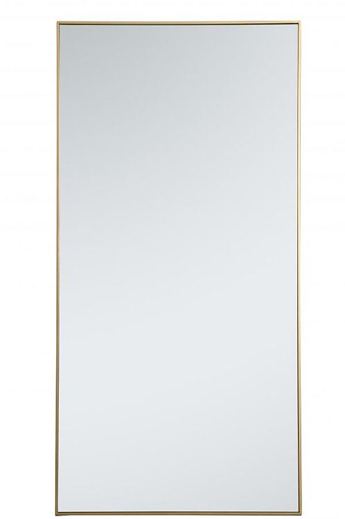 "Elegant Monet 36"" Rectangle Wall Mirror"