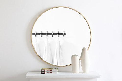 "Elegant Eternity 36"" Round Wall Mirror"
