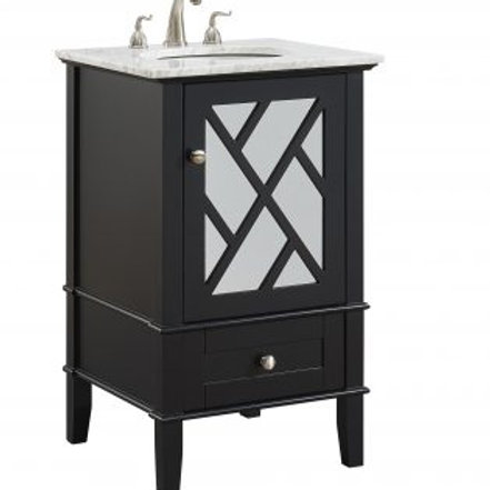 "Elegant Luxe 21"" Vanity with Drawer"