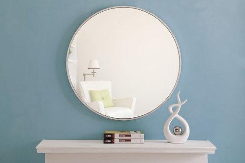 "Elegant Eternity 28"" Round Wall Mirror"