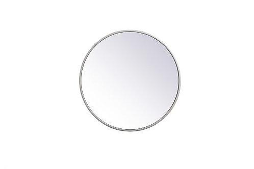 "Elegant Eternity 18"" Round Wall Mirror"