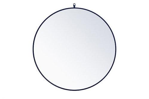 "Elegant Rowan 36"" Round Wall Mirror"