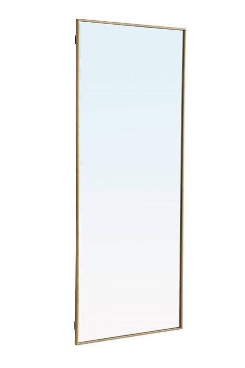 "Elegant Monet 30"" Rectangle Wall Mirror"