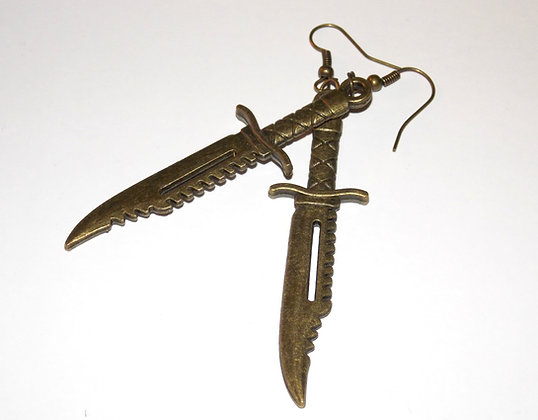 Hunters' Blade Earrings