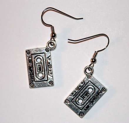Awesome Mix Cassette Earrings
