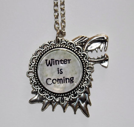 Winter Wolf Necklace