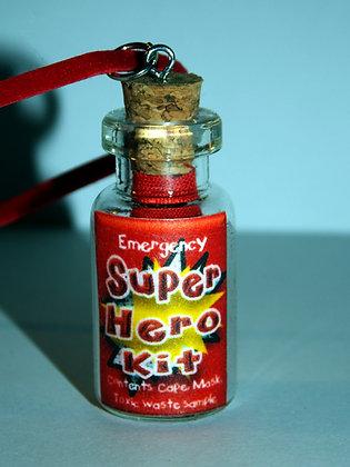 Emergency Super Hero Kit Necklace