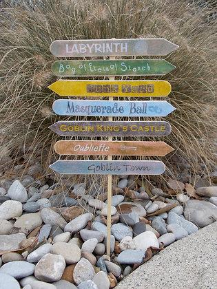 Labyrinth Sign Post