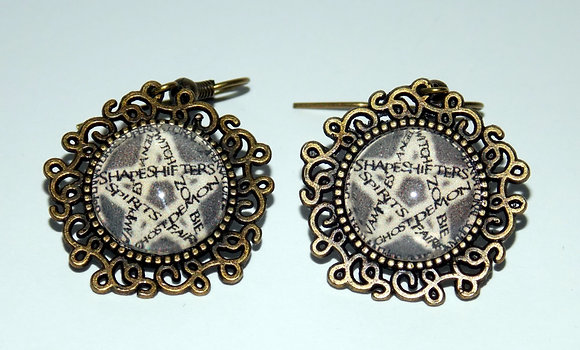 Supernatural Talisman Earrings