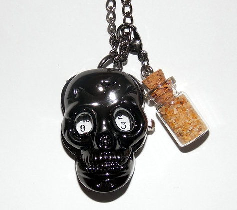 Skull Pocket WatchNecklace