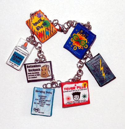 Wizard's Joke Shop Charm Bracelet