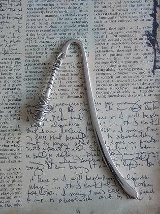 Barbed Wire Bat Bookmark