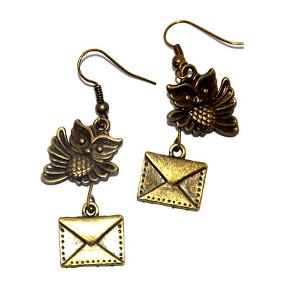 Owl Delivery Earrings