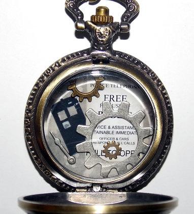 Time Piece Gear Locket