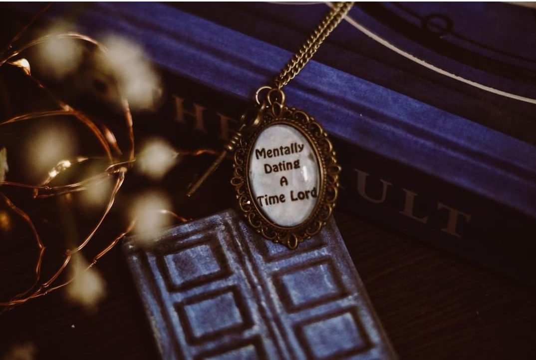 Mentally Dating Necklace