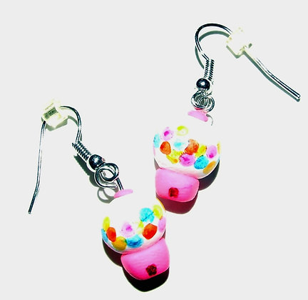 Gumball Machine Earrngs