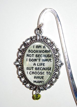I Am A Bookworm Bookmark