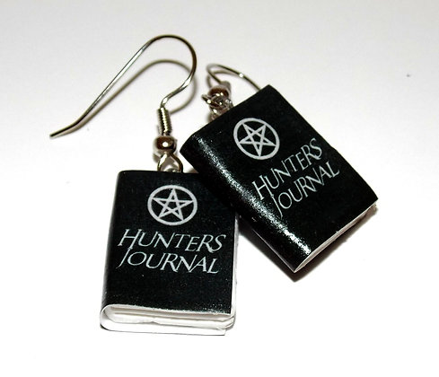 Hunter's Journal Earrings
