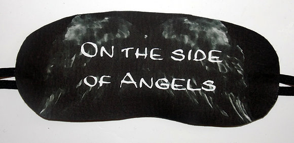On the Side of Angels Sleep Mask