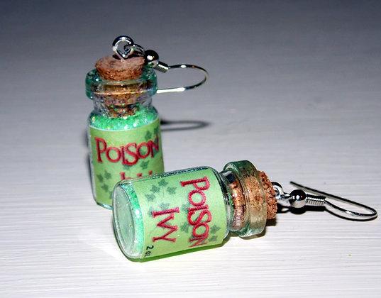 Poison Ivy Earrings