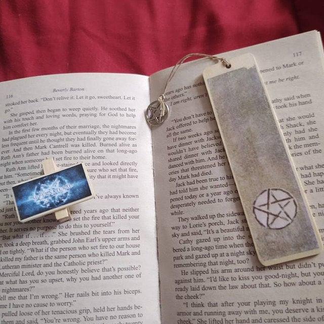 Supernatural Bookmark