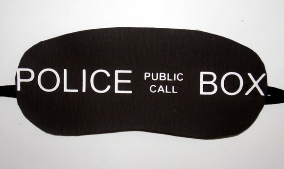 Police Box Sleep Mask
