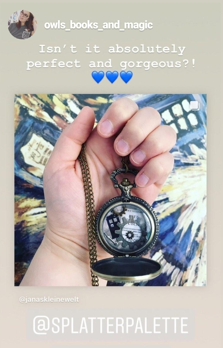 Time and Space Locket
