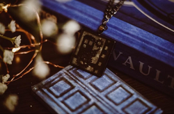 Steampunk Tardis Necklace