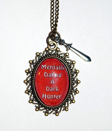 Mentally Dating a Dark Hunter Charm Necklace