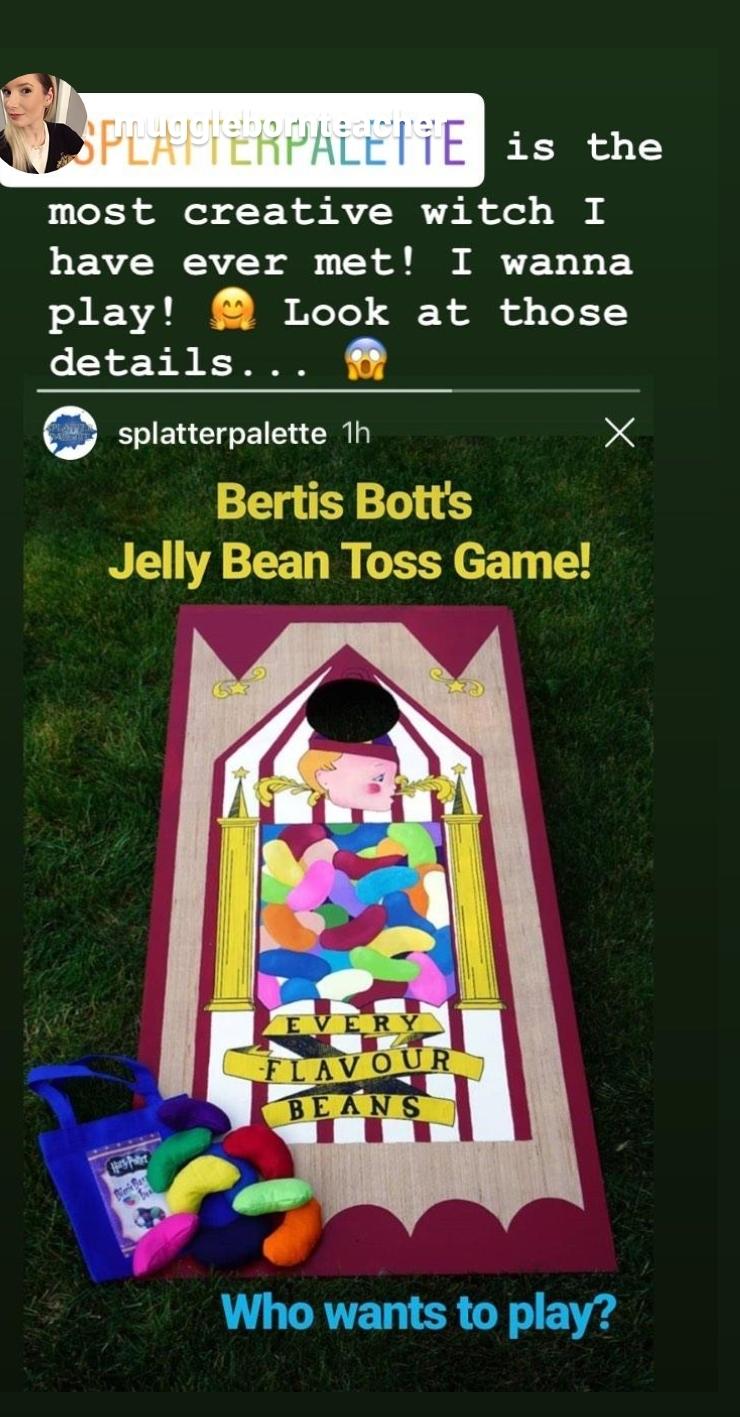 Bertie Bott's Bean Bag Toss